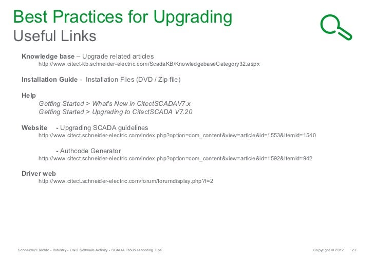 Schneider electric scada global support provides troubleshooting and publicscrutiny Choice Image