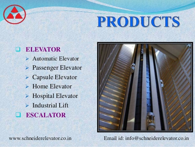 Schneider Elevator Lift And Escalator