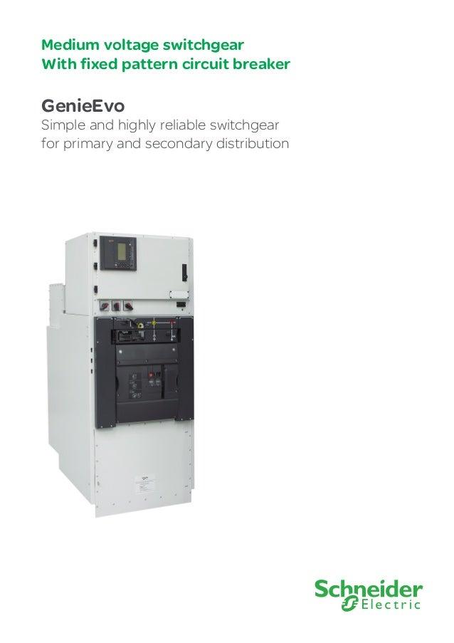 Schneider Genieevo Mv Modular Switchboard 13 8kv