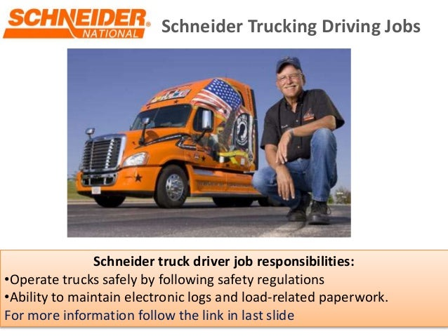 commercial truck driver job description