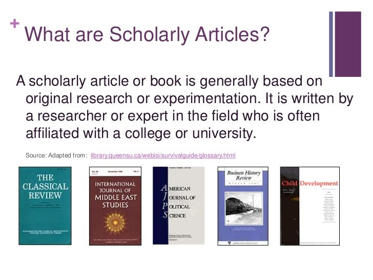 how to find scholarly sources