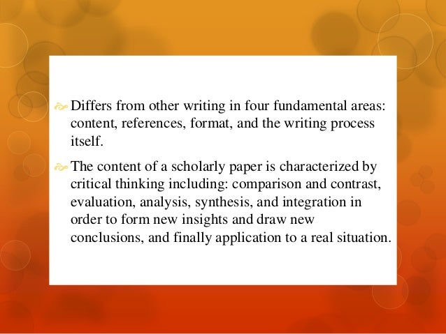 Organizing Your Social Sciences Research Paper: The Discussion