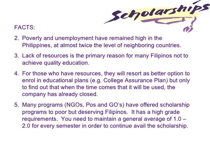 Free Scholarship Program For Filipinos