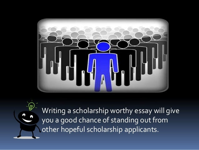 Help with writing a scholarship essay about your goals