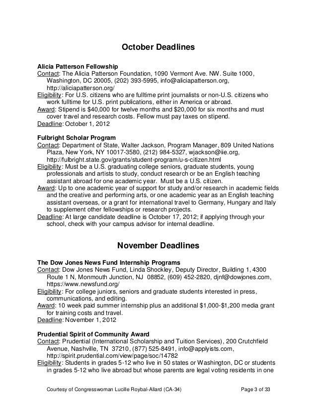 MISC Scholarship Guide 2012 2013 Slide 3