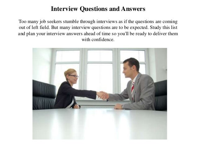 Scholarship interview questions and answers sample