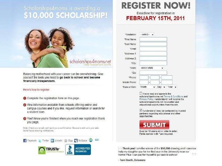 Scholarships for high school