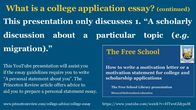 How to write a winner essay for college and scholarship applications – Scholarship Application Essay