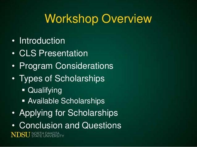 Ndsu study abroad scholarships