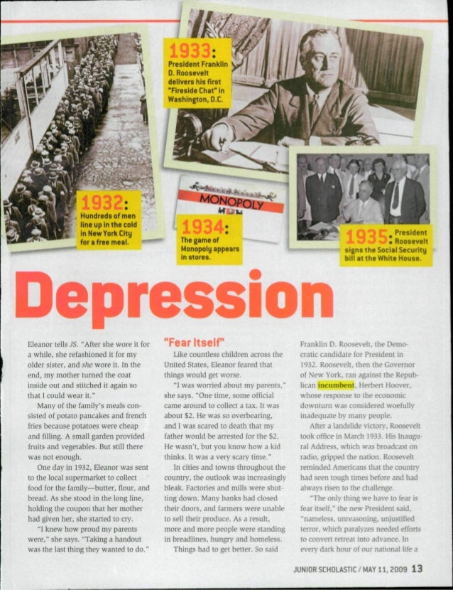 article about depression