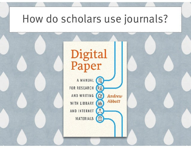 how to skim books and journal When you read journal articles, think about how you are going to write a paper based on what you read • keep in mind your own research question • focus on the information in the article that is relevant to your research question (you may be able to skim over other parts) • question everything you read - not everything is.