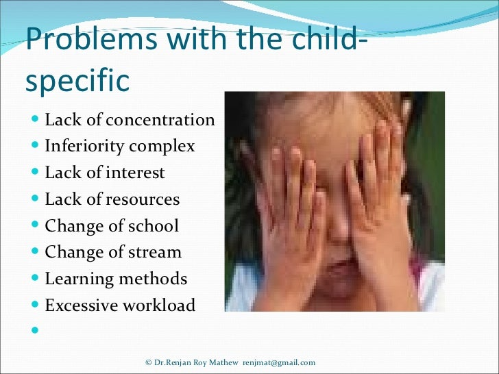 Scholastic Backwardness Reasons &