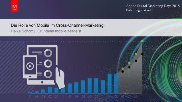 Die Rolle von Mobile im Cross-Channel-Marketing Heike Scholz | Gründerin mobile zeitgeist