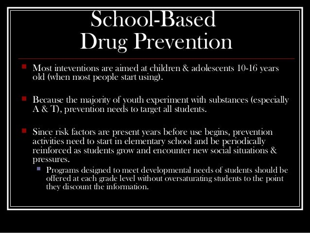 elementary schools should be careful with drugs Should students be drug tested at school to be drug tested at school drug tests are that grant public schools the authority to conduct drug testing in.