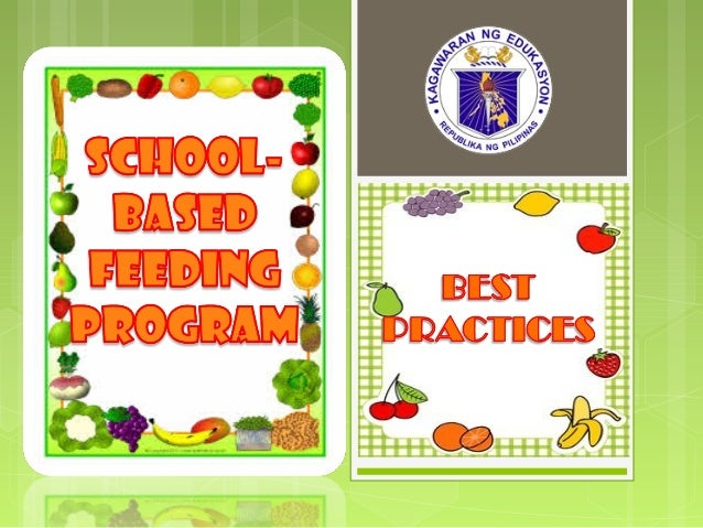 The parents of the recipients of the School- Based Feeding Program were all called for an Orientation conducted by the Sch...
