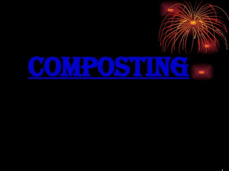 <ul><li>Composting </li></ul>