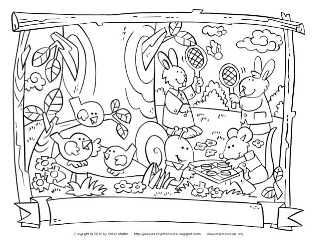 Back to School Coloring Pages Slide 2