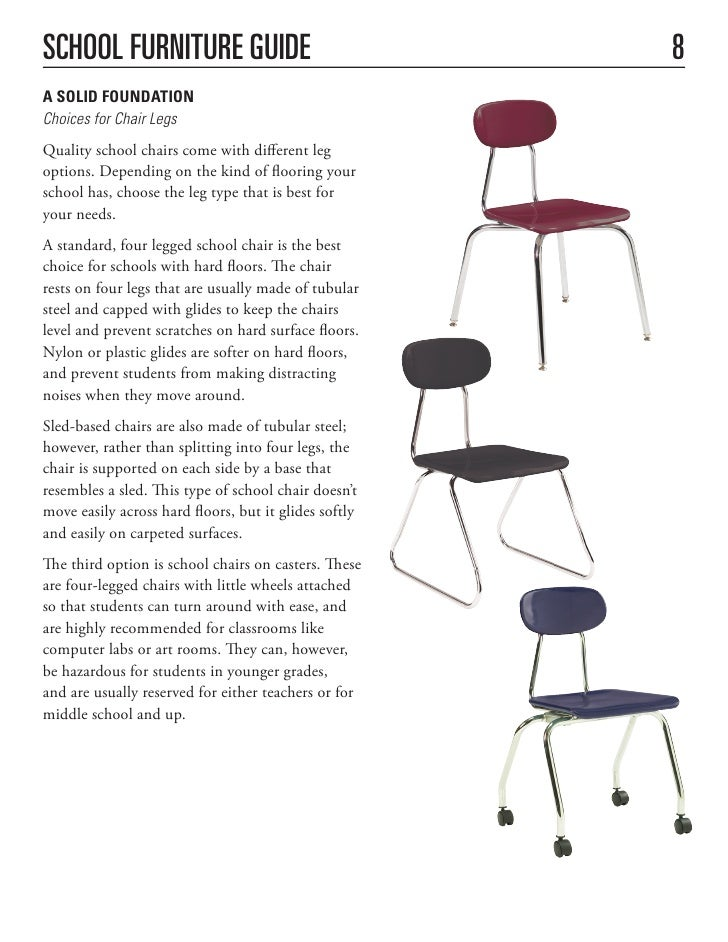 School Furniture Buying Guide