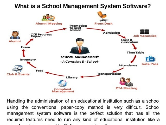Technology Management Image: School Information Management Software