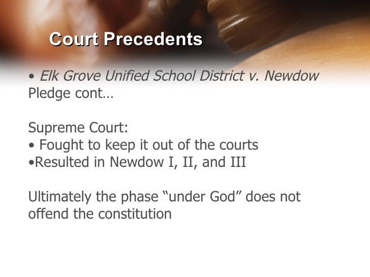 elk grove v newdow brief (findlaw) -- the week the supreme court heard oral argument in the pledge of allegiance case, elk grove independent school district v newdow.
