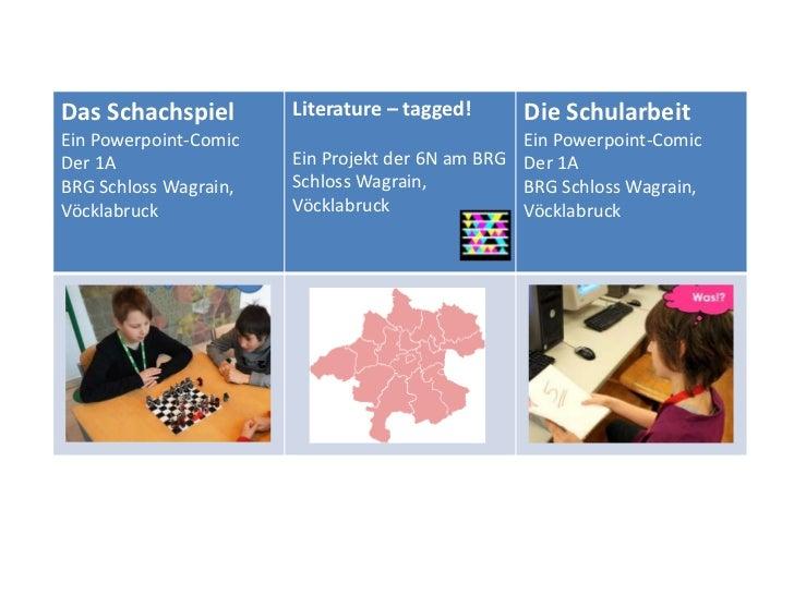 Das Schachspiel        Literature – tagged!     Die SchularbeitEin Powerpoint-Comic                             Ein Powerp...