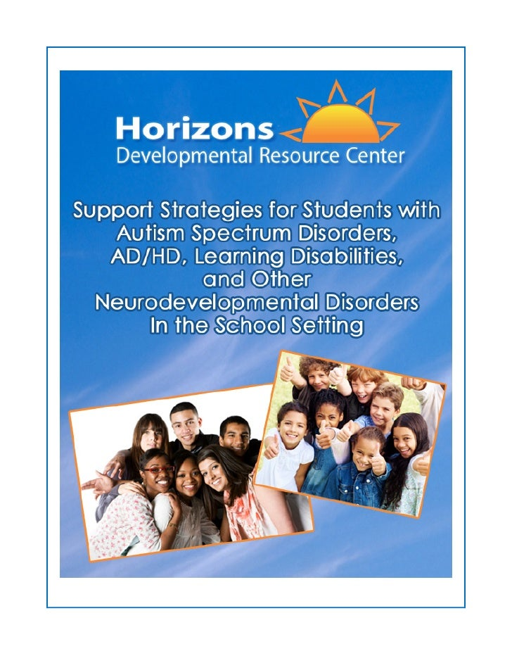 Copyright © 2012. All rights reserved. Horizons Developmental Resource CenterPrinted and bound in the United States of Ame...