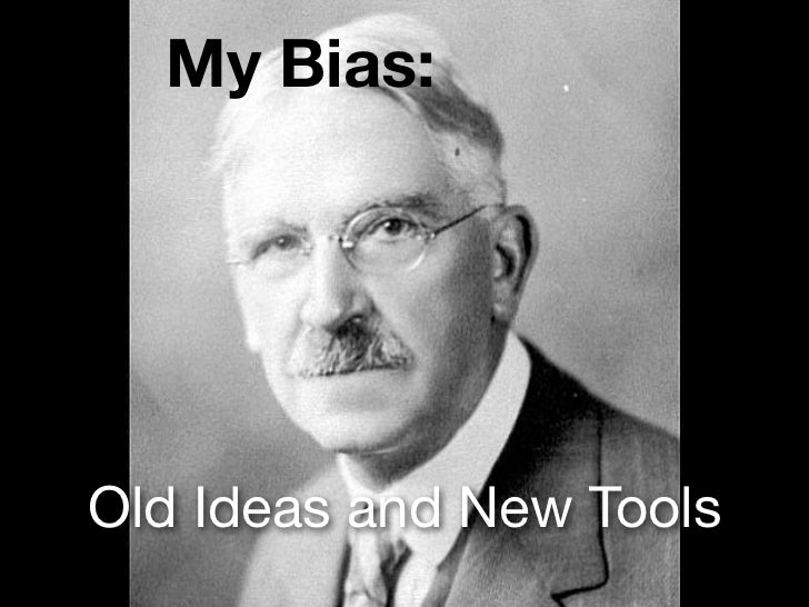My Bias:Old Ideas and New Tools