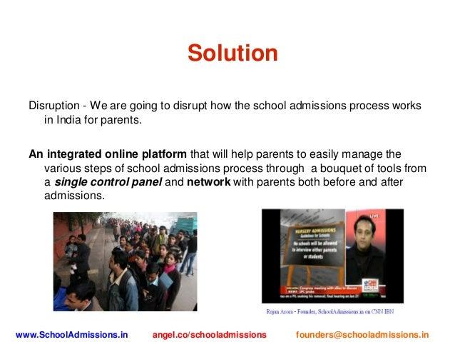 School admissions presentation 3 slide 500startups Slide 3