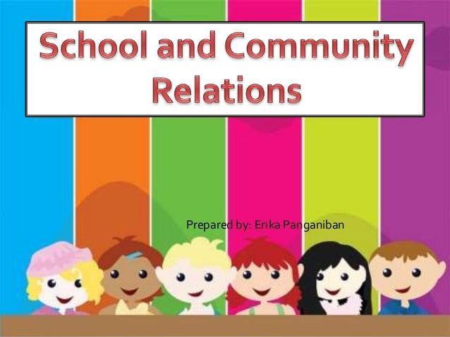 strategies to improve school and community relationship