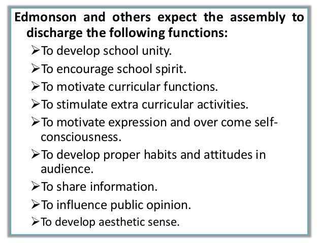 english prayer for school assembly
