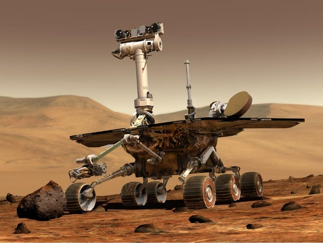 School assembly   the journey of the rover opportunity