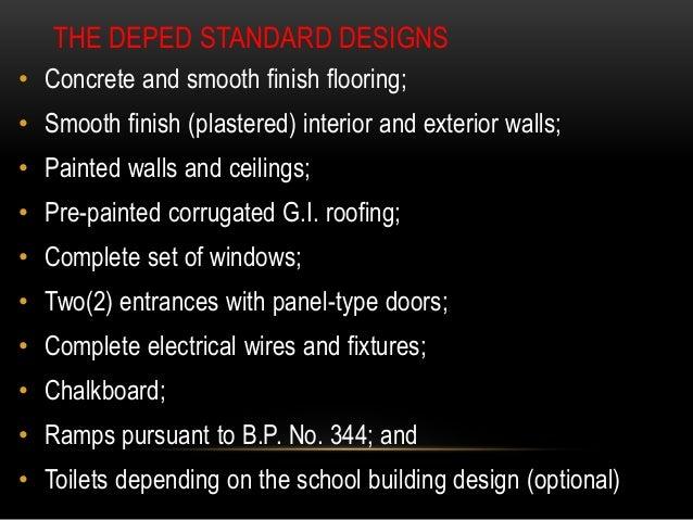 Deped Standard Classroom Design ~ School building