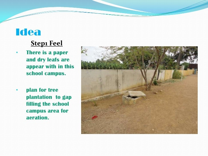 plantation in school campus essay Cleanliness essay 5 (300 words) cleanliness is a clean habit which is very necessary to all of us cleanliness is a habit of keeping ourselves physically and mentally clean including with our home, pet animals, surroundings, environment, pond, river, schools, etc.