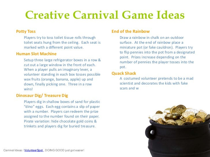 School Carnival Games amp Ideas Fabulously Fun