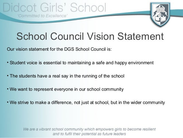 School Council 2013-14 Welcome