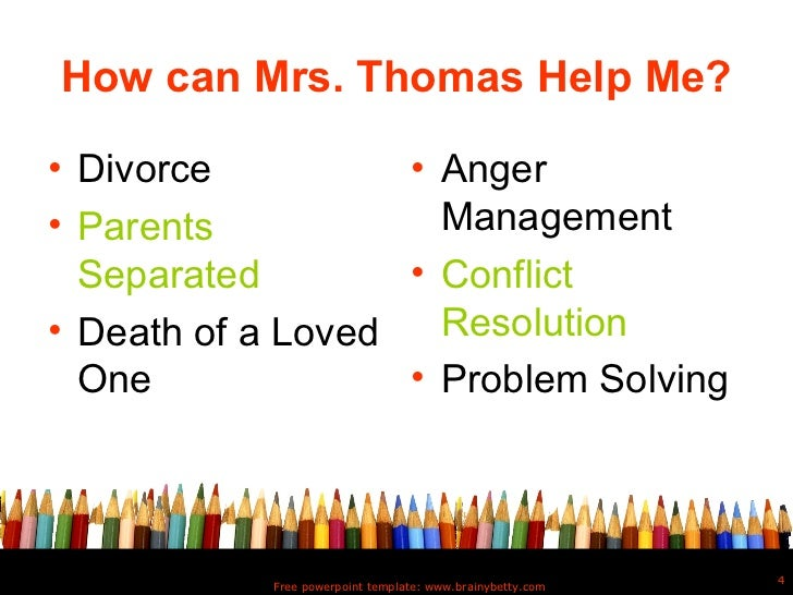 School counselor intro powerpoint template brainybetty 4 toneelgroepblik Image collections