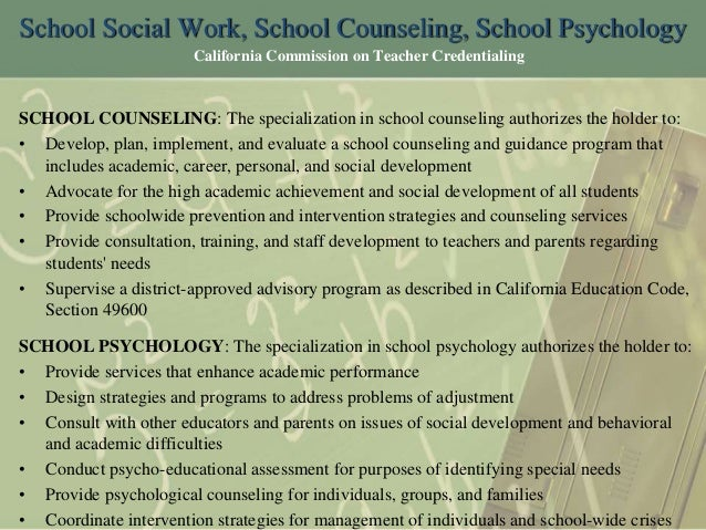 what u0026 39 s the difference between school counselors  school