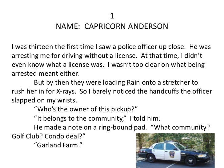 capricorn anderson Capricorn anderson 12 likes fictional character see more of capricorn anderson on facebook.