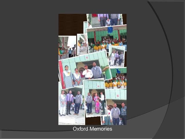 Oxford Memories