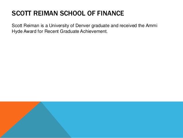 reiman school of finance