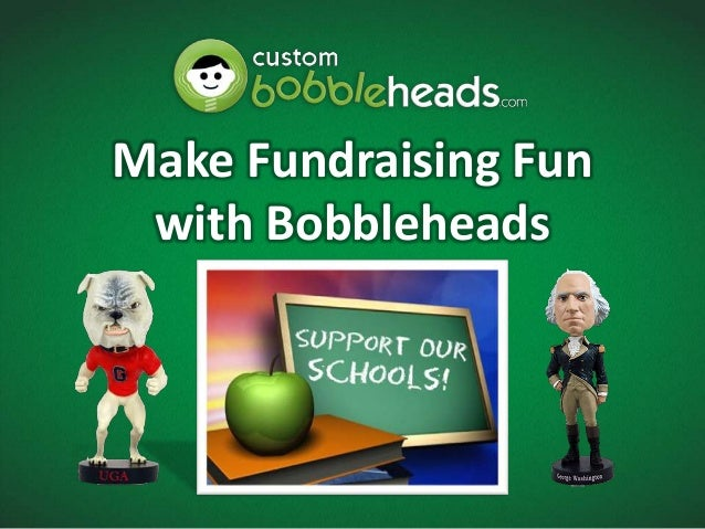 Make Fundraising Fun with Bobbleheads