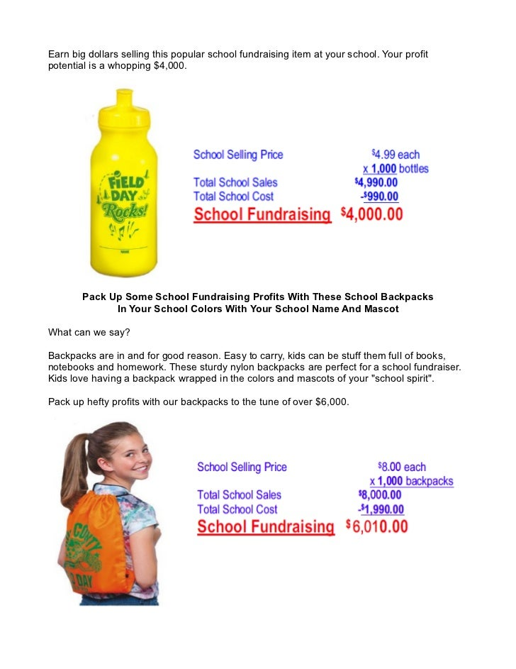 Successful School Fundraiser Ideas for School Stores and
