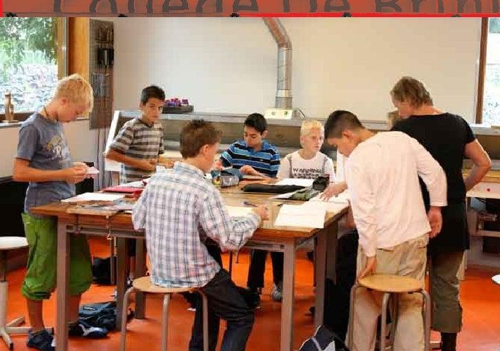 College De Brink                                   regionale scholengemeenschap voor vmbo                                 ...