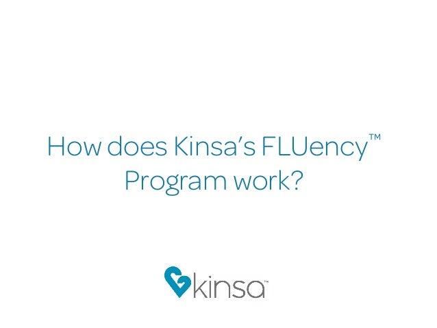 How does Kinsa's FLUency™ Program work?