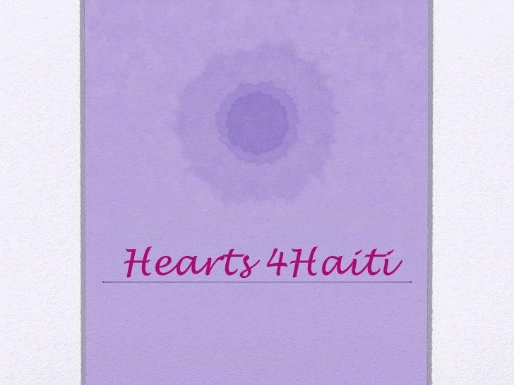 Hearts 4Haiti<br />