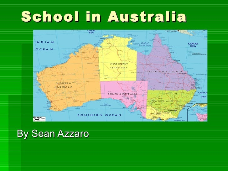 School in Australia By Sean Azzaro