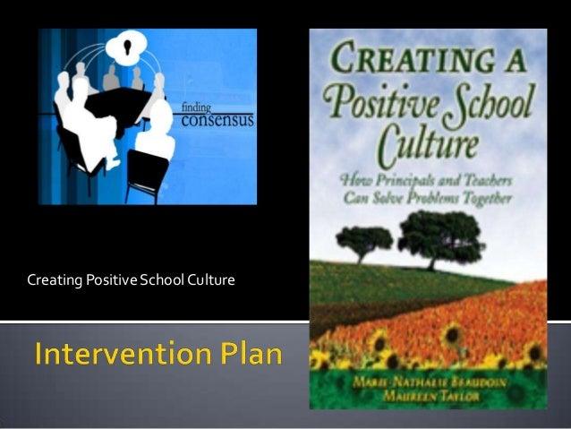 Creating Positive SchoolCulture