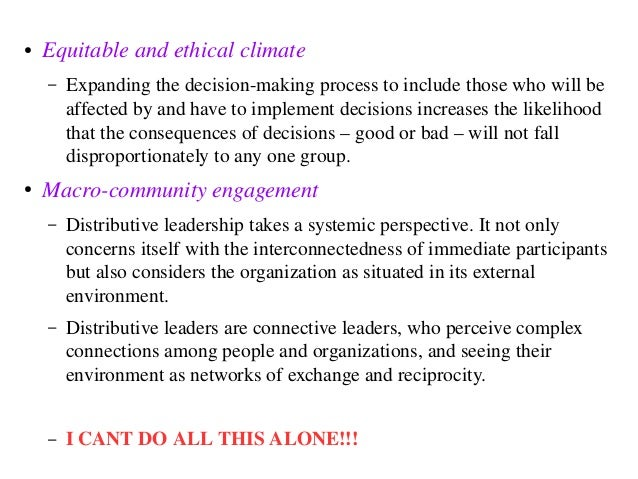 the consequences of the failures of leaders to construct an ethical climate in an organization Autocratic leaders can damage an organization irreparably as they for the inevitable failure this leadership produces and team climate principles journal.