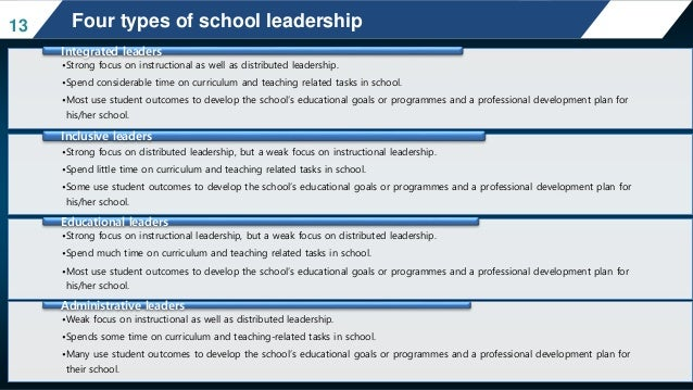 Fullan (2005) makes clear that for any initiative to become embedded in an  educational institution distributed leadership ...