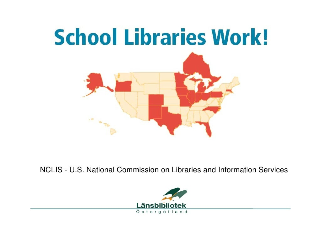 NCLIS - U.S. National Commission on Libraries and Information Services
